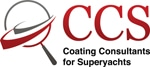 CCS | Coating Consultants for Superyachts |Paint Inspections, surveys, consultancy Logo